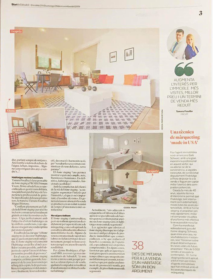 home staging sabadell